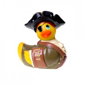 I Rub My Duckie | Pirate - Travel Size