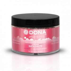 Sól do kąpieli - Dona Bath Salt Blushing Berry 225 ml