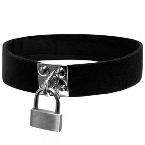 Obroża - S&M Lock & Key Collar