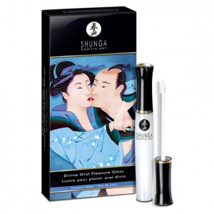 Błyszczyk do ust - Shunga Divine Oral Pleasure Gloss Coconut