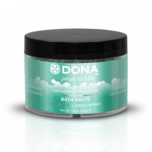 Sól do kąpieli - Dona Bath Salt Sinful Spring 225 ml