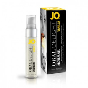 Żel do seksu oralnego - System JO Oral Delight Vanilla Thrill 30 ml Wanilia